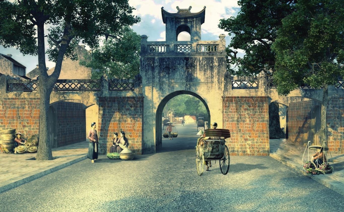 Những địa điểm đẹp ở Hà Nội