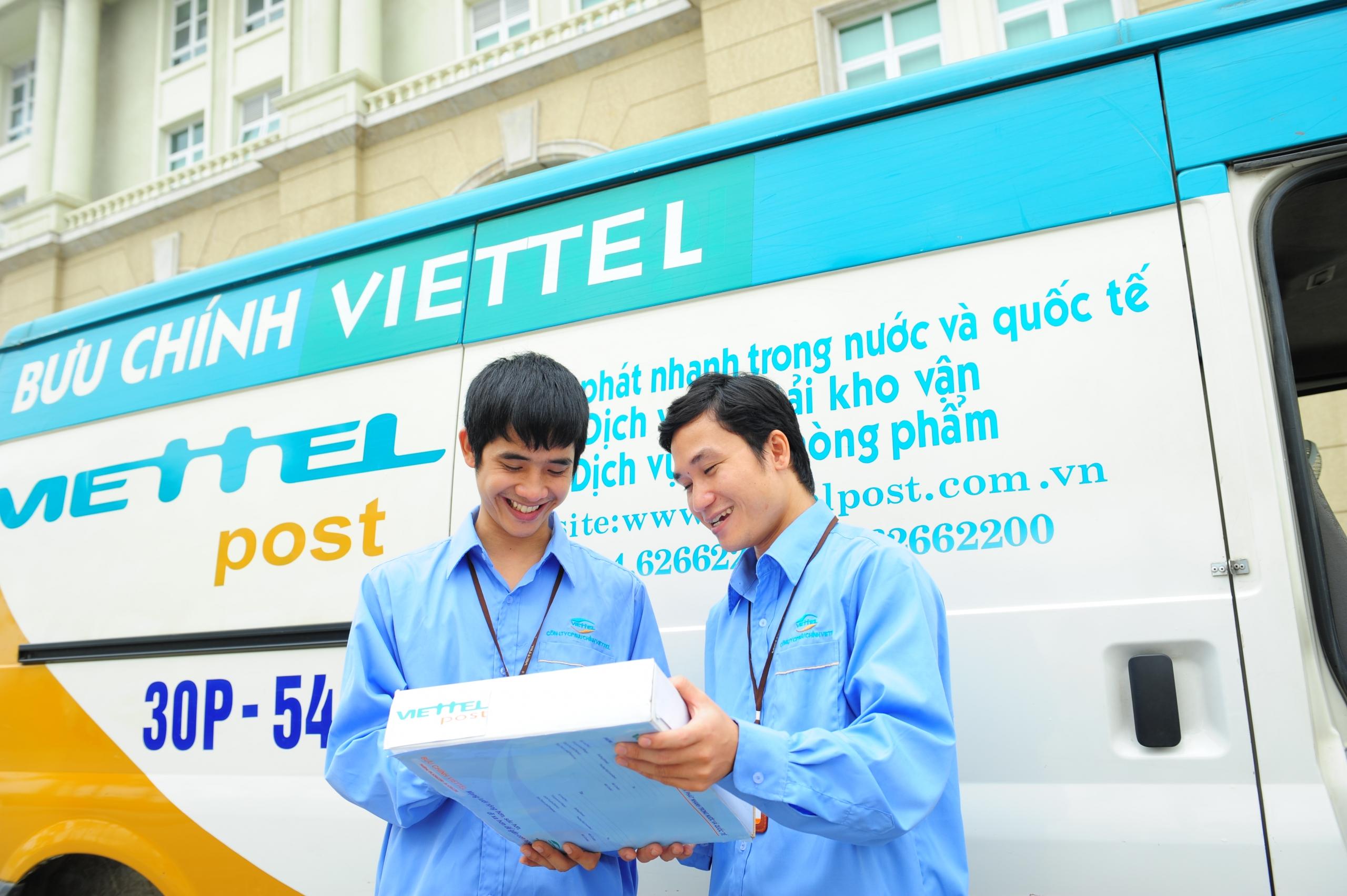 Bảng giá chuyển phát nhanh Viettel trong nước